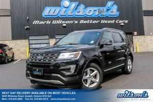 2016 Ford Explorer XLT 4WD! LEATHER! PANORAMIC SUNROOF! HEATED+P