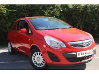Vauxhall Corsa S Ecoflex 3dr **FULL VAUXHALL S/HISTORY** (red) 2013