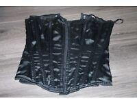 black size 8 corset annsummers