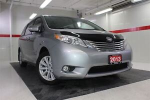 2013 Toyota Sienna XLE DVD AWD Heated Lthr Nav Sunroof Btooth BU