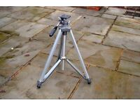 Camera Tripod - Velbron AE2 model - aluminium and steel design - excellent condition