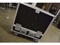 FBT Promaxx 12A / QSC K10 Twin Speaker Flight Case