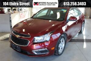 2016 Chevrolet Cruze LT 2LT Leather Back up and Sunroof!!