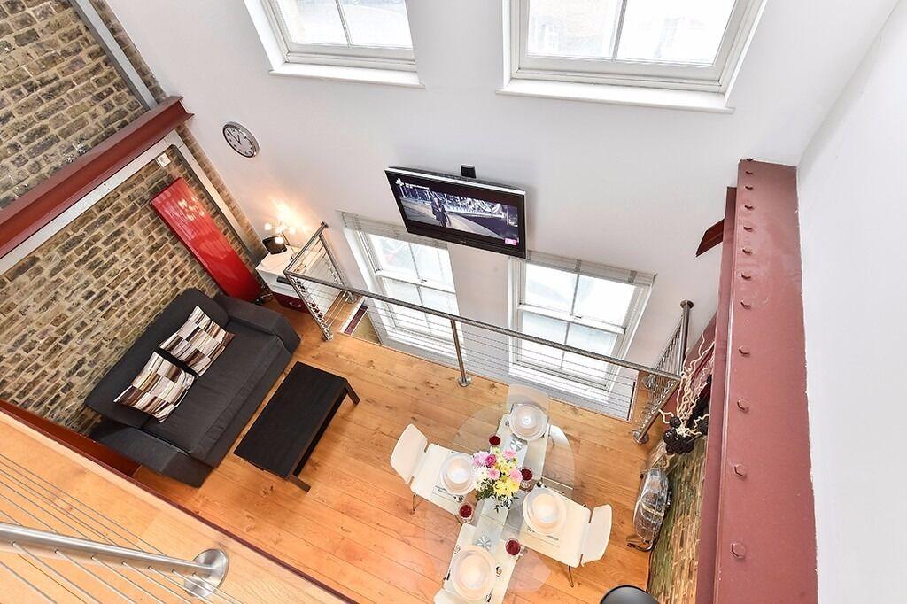 Modern 1bed/1bath triplex apartment*London Bridge area*Fully furnished*3 months minimum*WiFi inc