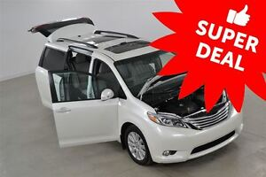 2017 Toyota Sienna Limited 7 Passagers (DÉMONSTRATEUR)