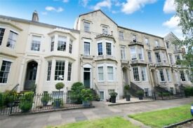 Part-Furnished Two Double Bedroom Top Floor Flat in Listed Building on Clarence Square