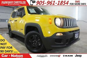 2015 Jeep Renegade SPORT| 4X4| MY SKY| BLUETOOTH| REAR CAMERA|
