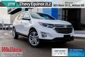 2018 Chevrolet Equinox Premier w/2LZ/LOADED/AWD/NAV/SUNRF/HTD CL