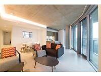Luxury 2 Bed 2 Bath Apartment in Hoola East, Royal Docks, E16, Western Gateway, Gym, Concierge- VZ