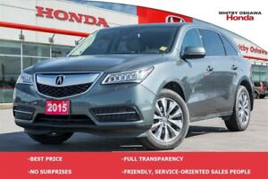 2015 Acura MDX Entertainment Package   Automatic