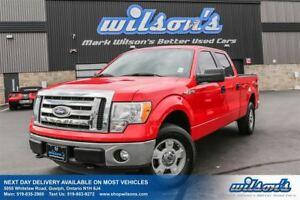 2011 Ford F-150 SUPERCREW 4WD! 6-PASSENGER! TONNEAU COVER! BED L