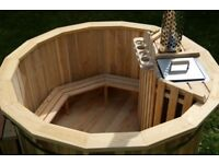 WOODEN HOT TUBS AND WOODEN BARREL AND POD SAUNAS FROM £1500 CONSTRUCTED AND DELIVERED