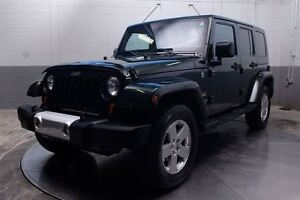 2010 Jeep WRANGLER UNLIMITED UNLIMITED SAHARA 4X4 A/C MAGS