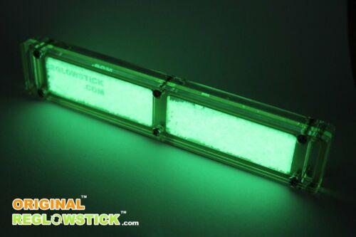 REGLOWSTICK ™ FLUORESCENCE KEYCHAIN - ORIGINAL ™ - GREEN LIGHT MARKER GLOW STICK