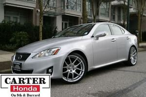 2011 Lexus IS 250 LEATHER + ALLOY WHEELS + LOCAL + NO ACCIDENTS!