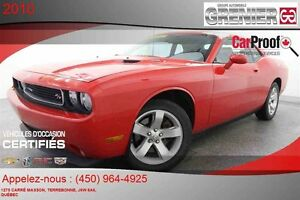 2010 Dodge Challenger R/T *CUIR + MAGS + HEMI V8 5.7L*