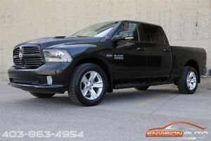 2015 Ram 1500 SPORT CREW 4x4 \ LEATHER \ ONE OWNER