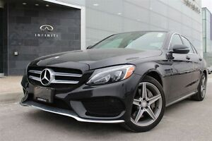 2016 Mercedes-Benz C-Class Base C300 4MATIC,PREMIUM PACKAGE,P...