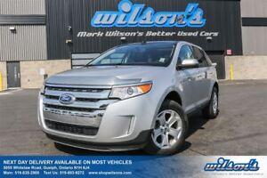 2013 Ford Edge SEL AWD! LEATHER! PANORAMIC SUNROOF! HEATED SEATS