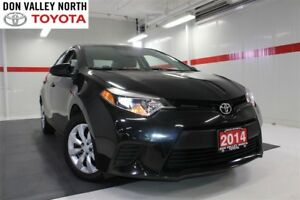 2014 Toyota Corolla LE Btooth BU Camera Heated Seats Pwr Wndws M