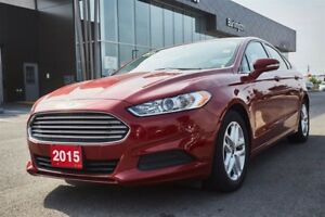 2015 Ford Fusion PACKAGE / CAMERA / LOW LOW KMS!!
