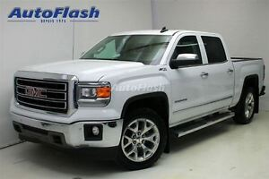 2015 GMC Sierra 1500 SLT Crew-Cab 5.3L * Cuir/Leather * Clean!
