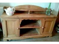 Old pine sideboard dresser shabby chic style