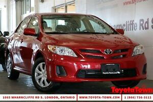 2013 Toyota Corolla SUPER LOW MILEAGE CE WITH HEATED SEATS