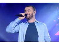 VIP package 2 x Sam Smith 9th April block b3 row b London tickets in hand