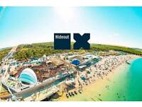 Hideout ticket for sale and flights