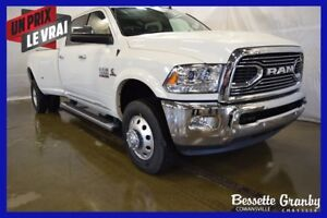 2018 Ram 3500 Limited +Toit, Roues Double+