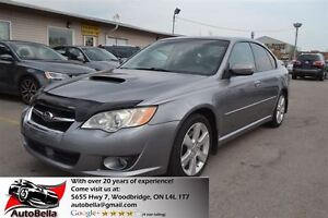 2008 Subaru Legacy 2.5 GT Limited Leather Sunroof Padel Shifts