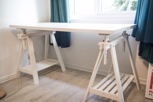 LINNMON FINNVARD white, Table, 150x75