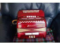 Borsini diatonic accordion ( Melodeon )