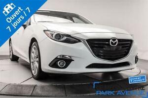 2014 Mazda MAZDA3 GT-SKY, NAV, TOIT, HEADS UP DISPLAY