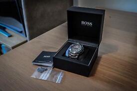 Hugo Boss Men's Ion Plated Bracelet Watch with guarantee