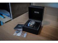 Hugo Boss Men's Ion Plated Bracelet Watch with guarantee