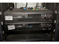 QSC RMX 850 Power Amplifier - mint, pair available