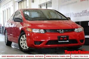 2007 Honda Civic LOW MILEAGE DX-G