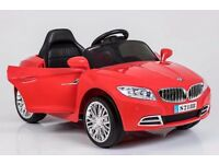KIDS BMW BATTERY PARENTAL REMOTE CONTROL CAR 12 VOLT MUSIC LIGHTS