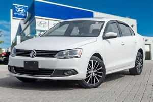 2013 Volkswagen Jetta Highline 2.5 Auto Leather Sunroof