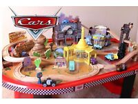 Disney Cars Racetrack and Table Play Set