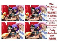 FUN VINTAGE STYLE PHOTO BOOTH HIRE IDEAL FOR WEDDINGS, PARTIES, KIDS PARTIES & EVENTS FROM £99