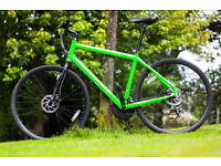 "N O R C O Hybrid Bike, 24 Speeds, Disc Brakes, 20"" Frame, AVAILABLE, Mint Condition, City Centre,"