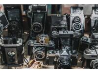 WANTED OLD VINTAGE CAMERAS