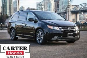 2015 Honda Odyssey Touring + NAVI + DVD + LOW KMS + CERTIFIED!