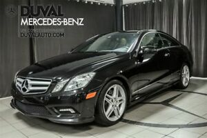 2011 Mercedes-Benz E-Class E550 COUPE V8 / A/C CAMERA SIÈGES CLI