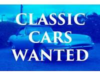 Wanted Classic car or motorcycle