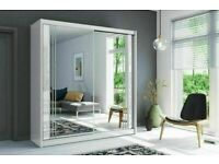 💖👌 SUPERB QUALITY NEWYORK MIRRORED SLIDING WARDROBES WITH 2 & 3 DOORS, FAST DELIVERY