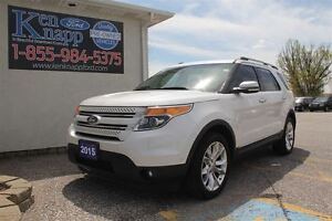 2015 Ford Explorer Limited LEATHER NAV SUNROOF REMOTE START